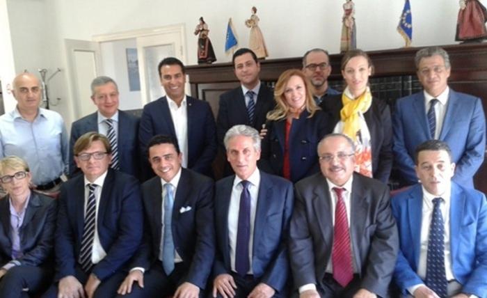 Renouvellement du mandat du pr sident mourad fradi la for Chambre de commerce tuniso italienne