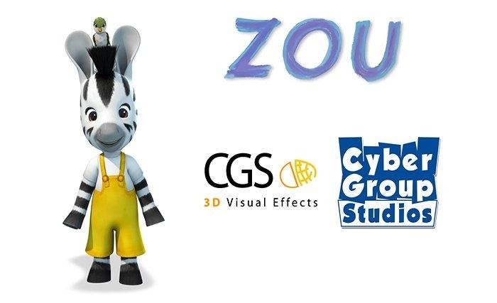 Cgs 3d Cartonne Avec La Série Zou