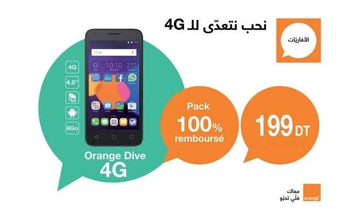 orange lance en exclusivit le smartphone 4g le moins cher du march. Black Bedroom Furniture Sets. Home Design Ideas