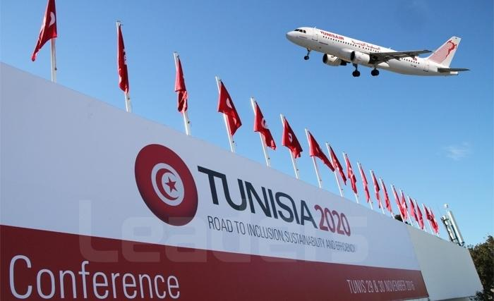 TUNISAIR Transporteur Officiel de la Conférence Internationale TUNISIA 2020