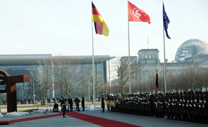 Angela Merkel attendue aujourd'hui à Tunis