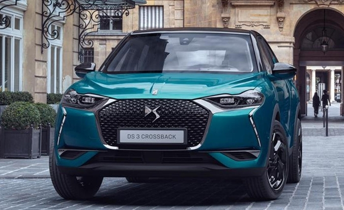 DS 3 Crossback :Icone du style high-tech