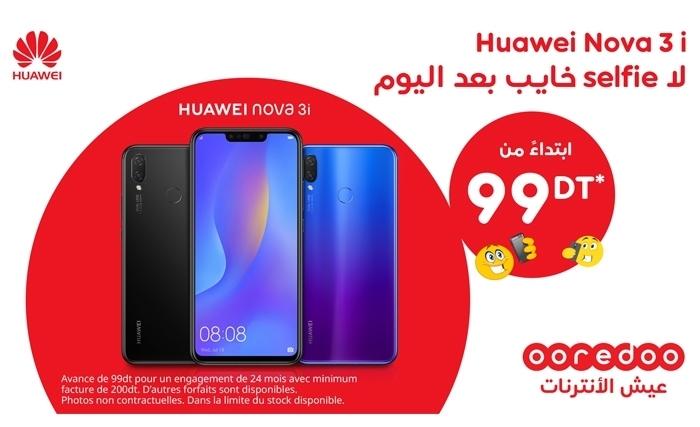 Ooredoo Lance Le Nouveau Pack Huawei Nova 3i Un Smartphone