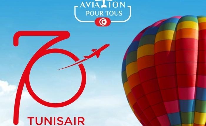 Show Aérien pour la célébration du 70éme anniversaire de Tunisair