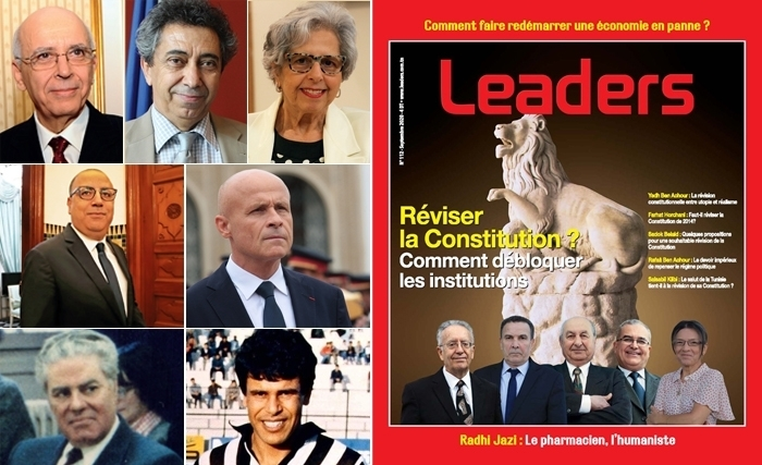 Parution du magazine Leaders : 5 constitutionnalistes de renom au chevet de institutions