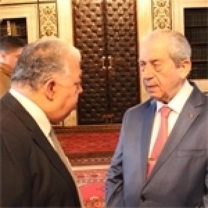 Mohamed ennaceur et Sofinne Ben Farhat