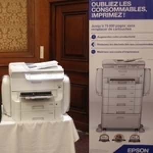 Lancement des imprimantes Epson WorkForce Pro RIPS en Tunisie