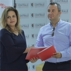Signature d'une convention entre l'Université Centrale et Jumia