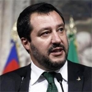 Ghazi Jribi et Matteo Salvini