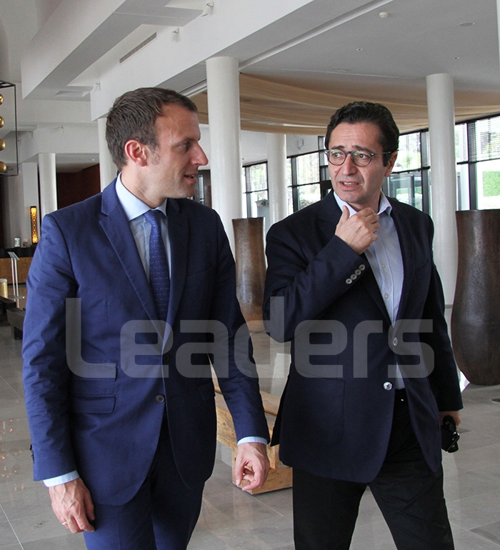 Emmanuel Macron en visite en Tunisie